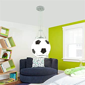 Merveilleux Luminaire Chambre Ado Garcon, Lustre Enfant Garcon Luminaire Football  Lustre Chambre Ado Garcon Luminaire Suspension