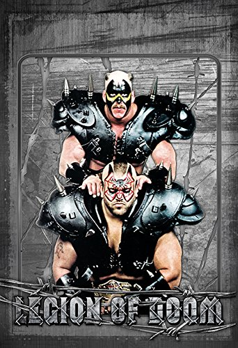 Legion of Doom Awesome RETRO Wrestling Wall Art 002 13x19 (Legion Glossy Paper)