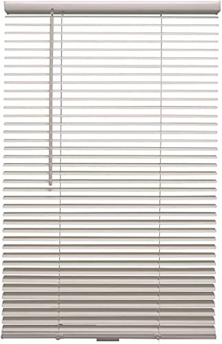 Designer's Touch 3589902 White Cordless 1 in. Room Darkening Vinyl Blind