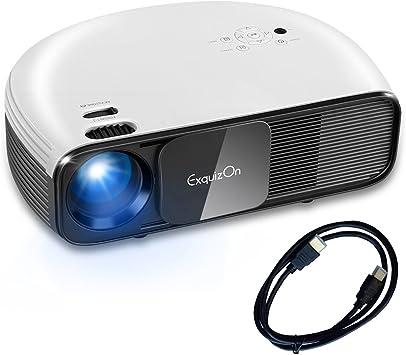 Exquizon – proyector LCD LED: Amazon.es: Electrónica
