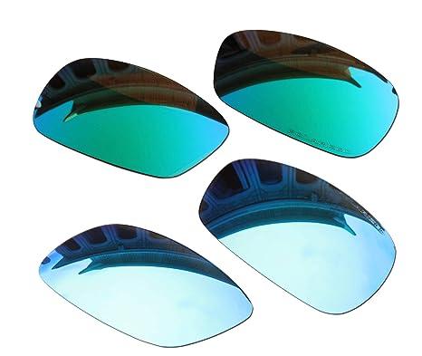 ec9e6a517d924 Amazon.com  2 Pairs BVANQ Polarized Lenses Replacement Green   Blue for Oakley  Crosshair 2.0 (OO4044) Sunglasses  Home Improvement