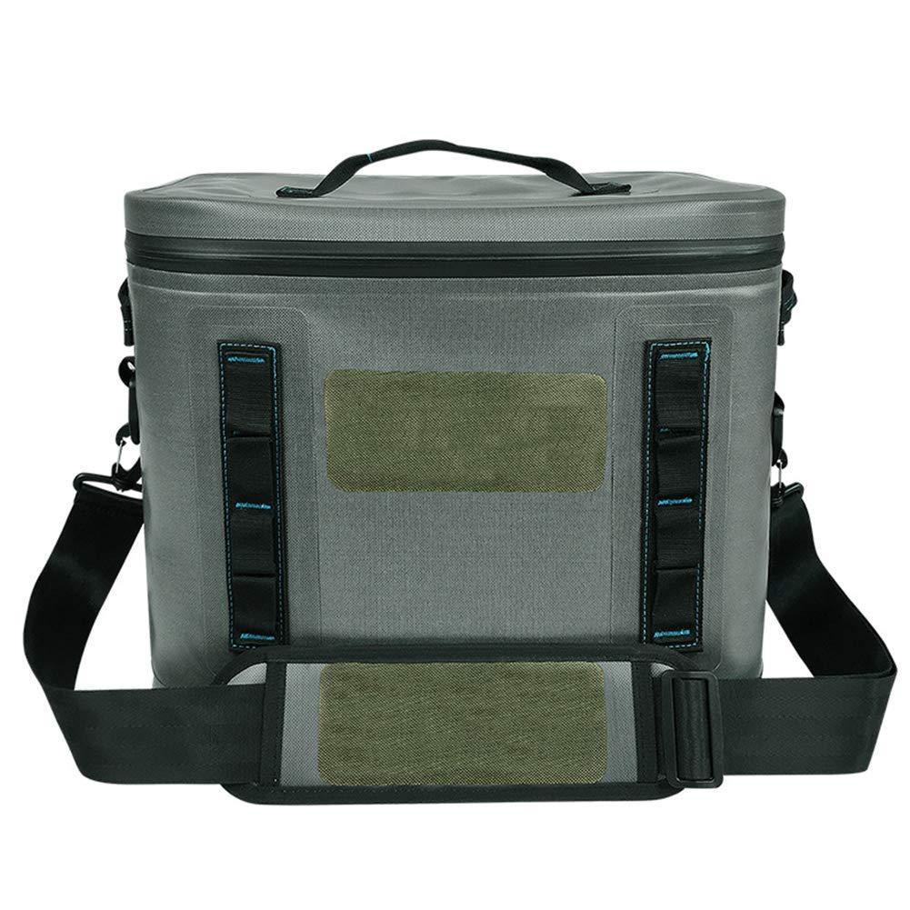 Sac Isotherme Grand portatif de Mode portatif Pratique, 20L isolé thermiquement imperméable pour Le Camping extérieur de Pique-Nique  -