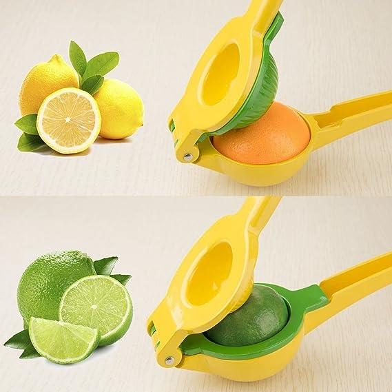 Compra TOOGOO Exprimidor de limon Exprimidor de citricos de metal de calidad superior 2 en 1 Licuadora de limon / Exprimidor de limon en Amazon.es
