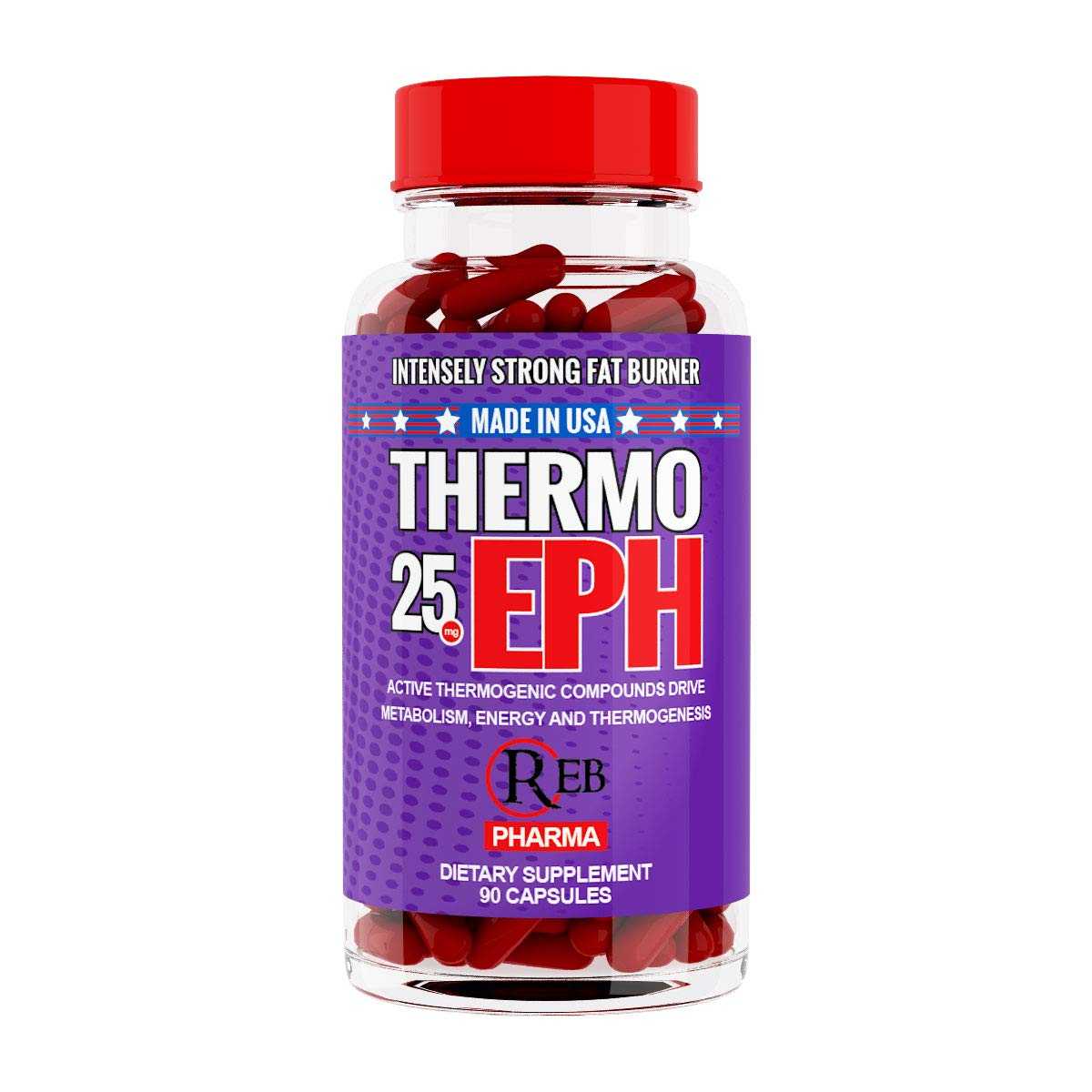 Thermo EPH Thermogenic Fat Burner with Extreme Energy and Appetite Control by REB Pharma
