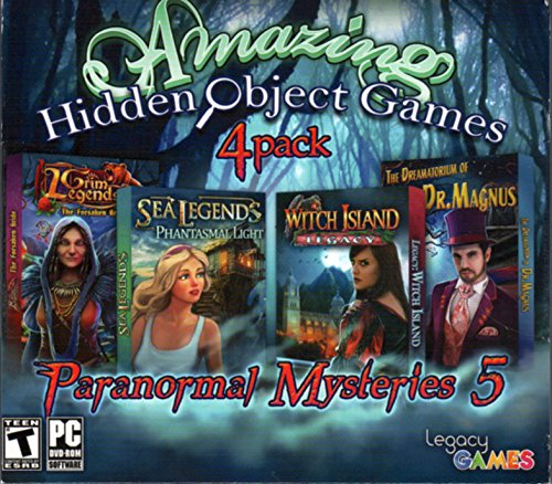 Paranormal Mysteries 5: Amazing Hidden Object Games (4 Pack) from Legacy Games