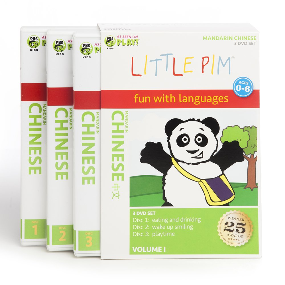 Amazon.com: Little Pim Chinese (3-Pak Volume 1): Movies & TV