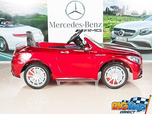 Amazon.com: Coche Mercedes-Benz S63para niños ...