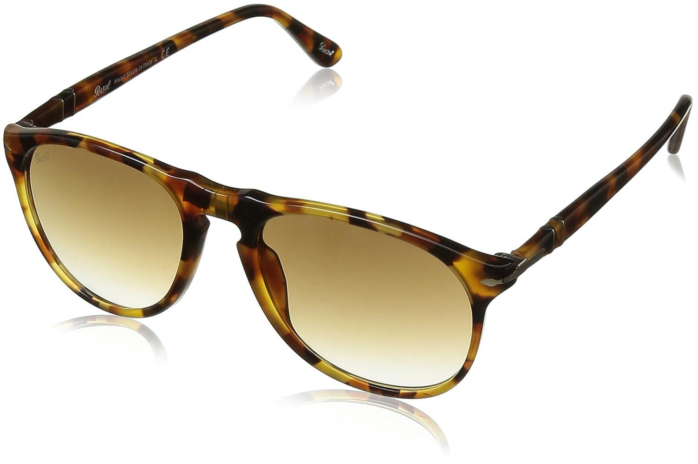 a4ea8c73cac31 Persol Men s PO9649S Sunglasses Madreterra Clear Gradient 52mm at Amazon  Men s Clothing store