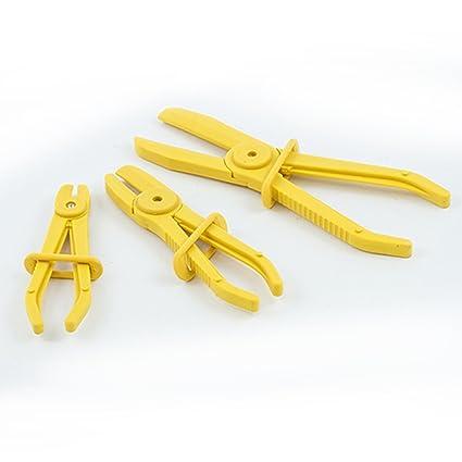 Pinza abrazaderas Alicate, Juego de 3 piezas – Manguera Abrazadera Pinzas para cables Pinza Alicate