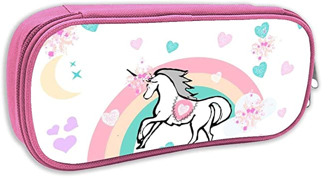 Estuche de lápices Infantil,Unicornio mágico, Rosa: Amazon.es: Juguetes y juegos