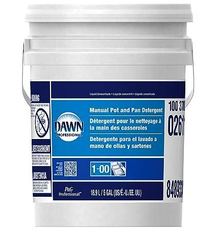 Amazon.com: Dawn - Dishwashing Liquid Original Scent 5Gal Pail ...