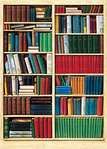 Komar DM401 Ideal Decor Biblioteque 4-Panel Wall