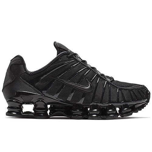 à bas prix bbff0 17906 Nike Shox TL BV1127 001 Black/Black: Amazon.co.uk: Shoes & Bags