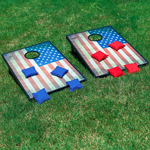 Sports Festival Light Up LED Cornhole Board Bean Bag Toss Game Set by Sports Festival (Image #6)
