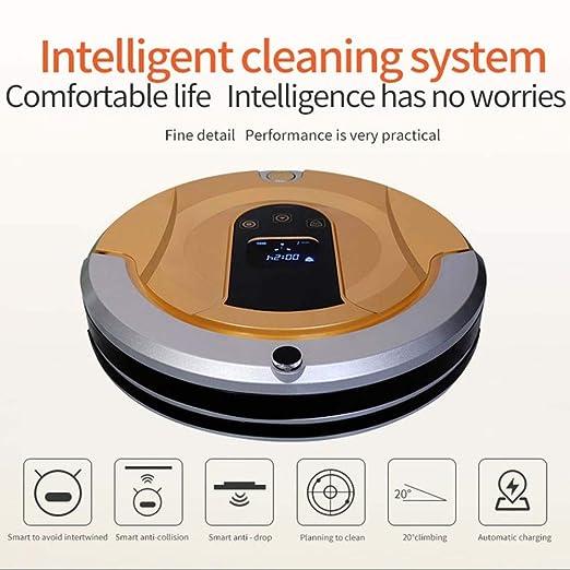 SPFAZJ Robot aspirador aspiradora inteligente mojado seco reserva ...