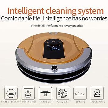 SPFAZJ Robot aspirador aspiradora inteligente mojado seco reserva de ...