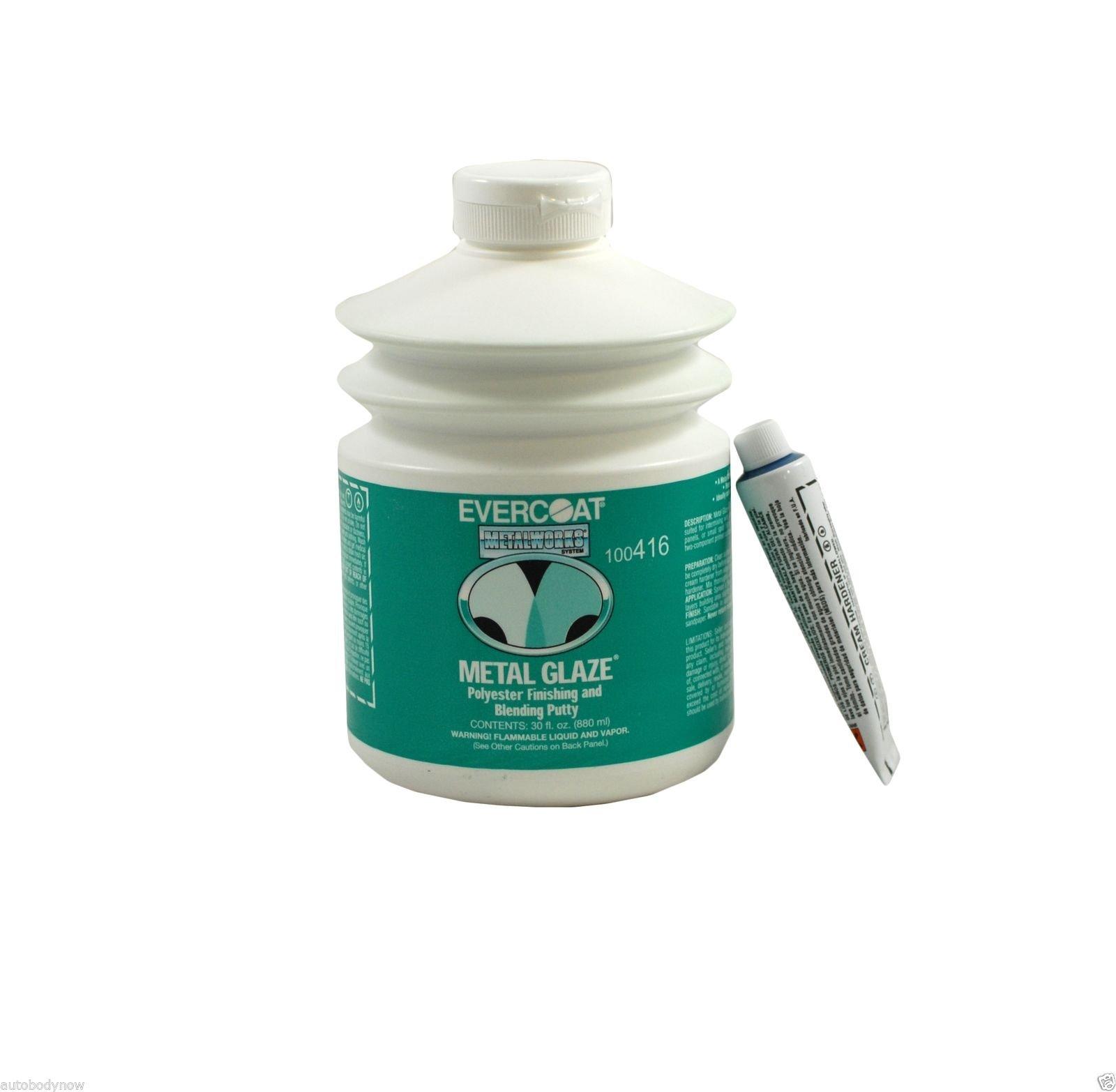 Fibreglass Evercoat 416 Metal Glaze Polyester Finishing and Blending Putty - 30 Oz. Pump