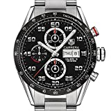 Brown Men's TAG Heuer Carrera Tachymeter