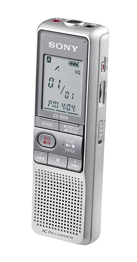 amazon com sony icdb600 digital voice recorder electronics rh amazon com sony icd-bx700 digital voice recorder manual sony icd bx700 recorder manual