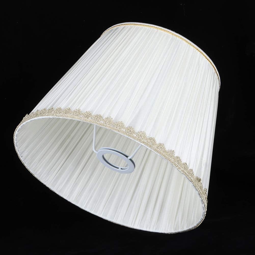 Hecho a Mano Cubierta de Luz Tela Cobertor de L/áMpara Decoraci/óN para Bombillas de Velas L/áMpara de Piso Luces de Mesa L/áMpara de Pared Moderno Pantalla de L/áMpara