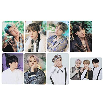 Nuofeng - Kpop BTS Lomo Card Photo Sticker 2019 5TH MUSTER GOODBYE Paper  Postcard Set Gift for ARMY(D-8pcs-1)