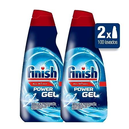 Finish detergente lavavajillas formato Gel - Duplo 100 lavados