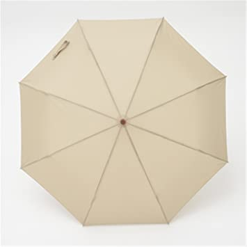 reinhar japonés – de alta calidad color sólido totalmente automática plegable paraguas para hombres adultos sombrilla