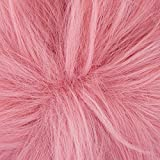 Anogol Hair Cap+Cosplay Wig Girls' Short Pink