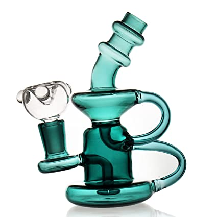 P-Sungar Bong Black Cup Small Recycler Bong Bong 14 4 mm Bong Bowl 2  Functions of Accessories Two Types of use