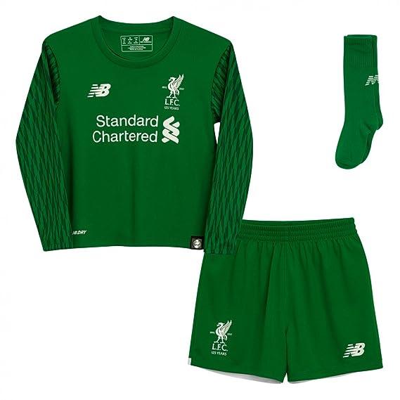 detailed look 738ac 8af75 Liverpool FC 16/17 Home Infant Goalkeeper Football Kit
