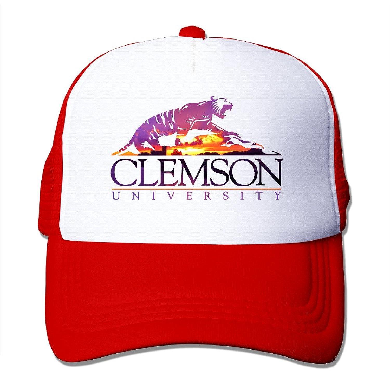 Hotgirl4 Clemson University Tiger Cap Hats Meshback Adjustable Hats 1 Size Black