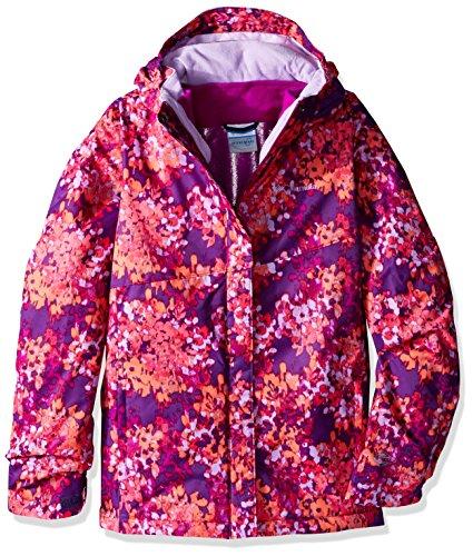 Columbia Girls Bugaboo Interchange Jacket, Large, Iris Glow Floral by Columbia