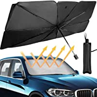 مظلة سيارة قابلة للطي للوقاية من اشعة الشمس فوق البنفسجية عازلة للحرارة توفر حماية داخلية وحماية زجاج مقدمة السيارة…
