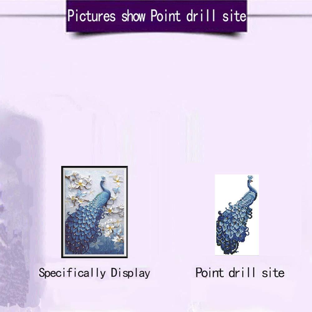5d Diamant Kits de peinture Wuayi Animal Lion DIY 5d Diamant Peinture Cristal Broderie Strass Collez-le photos kit de point de croix pour la maison D/écoration murale A:30cmx45cm