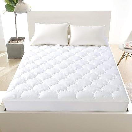 Amazon Com Mattress Topper Best Cooling Pad Pillow Top Provides
