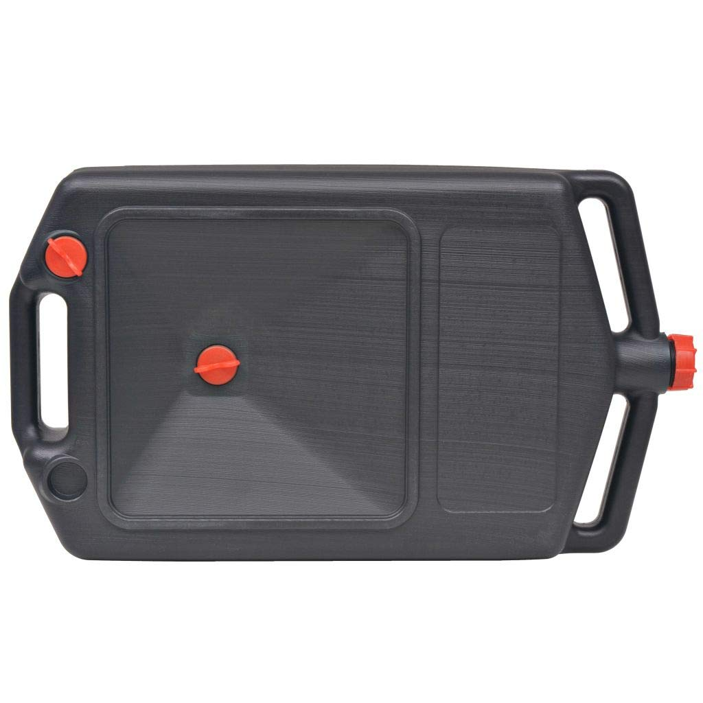 Xingshuoonline Portable rifiuti olio recipiente con tappi di chiusura 10/l