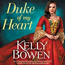 Duke of My Heart Audiobook by Kelly Bowen Narrated by Ashford McNab