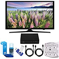 Samsung UN50J5000 - 50-Inch Full HD 1080p LED HDTV Plus Terk Cut-the-Cord HD Digital TV Tuner and Recorder 16GB Hook-Up Bundle