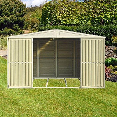 Duramax woodbridge 10x5 vinyl shed