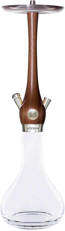 Wookah Shisha de madera de nogal (Smooth)