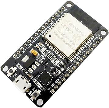 Lanceasy Junta de Desarrollo ESP32 WiFi + Bluetooth 2-en-1 de ...