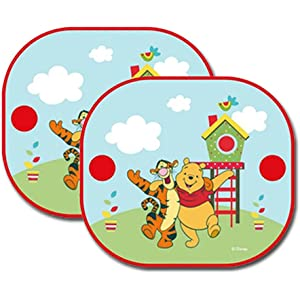 Kids ABC//123 Sun Car Window Shades Blinds Sunshades 2 Pack