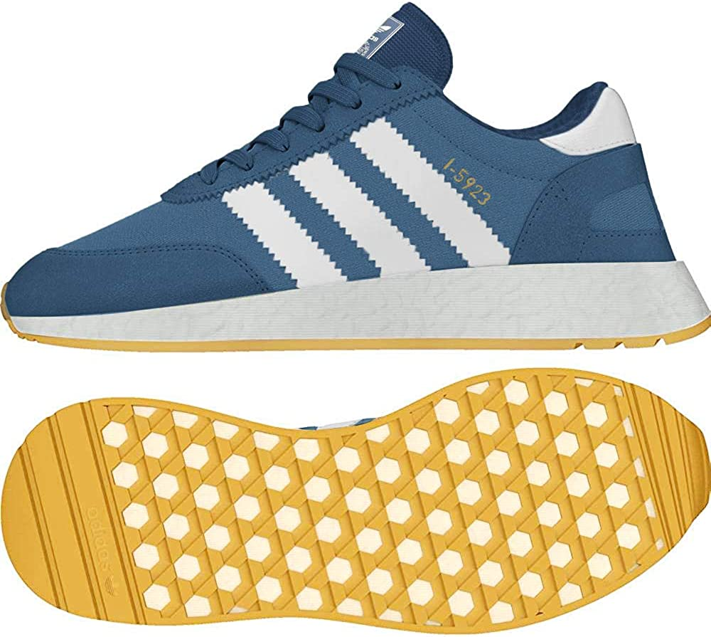 Sobretodo esfuerzo cosecha  Amazon.com | adidas - I5923 W - CQ2529 - Color: Blue - Size: 5 | Shoes