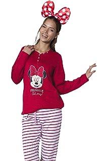 Disney - Pijama Largo para Mujer Minnie