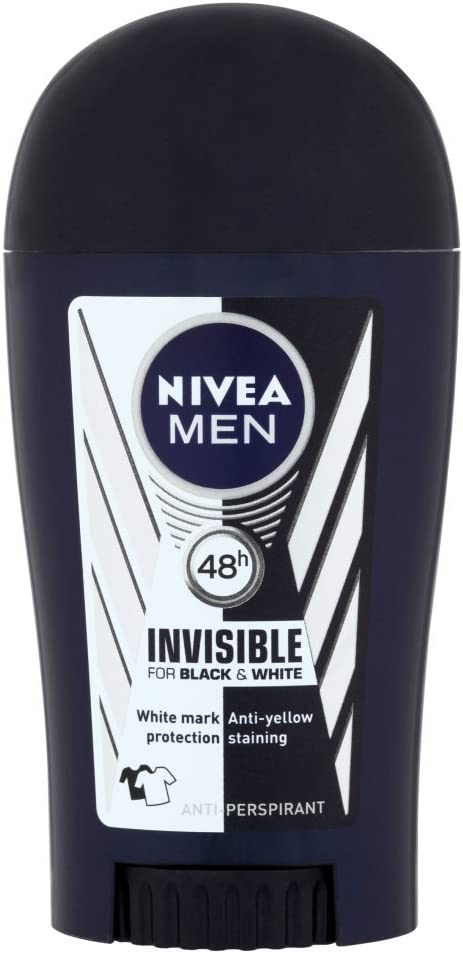 Nivea - Nivea men, invisible stick, desodorante en barra, pack de ...