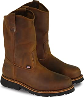 """product image for Thorogood Men's American Heritage 11"""" Wellinton Round Toe, MAXwear 90 Safety Toe Boot"""