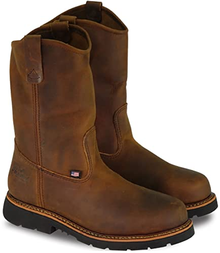 e185544e72f Thorogood Men's Wellington Safety Toe Work Boot