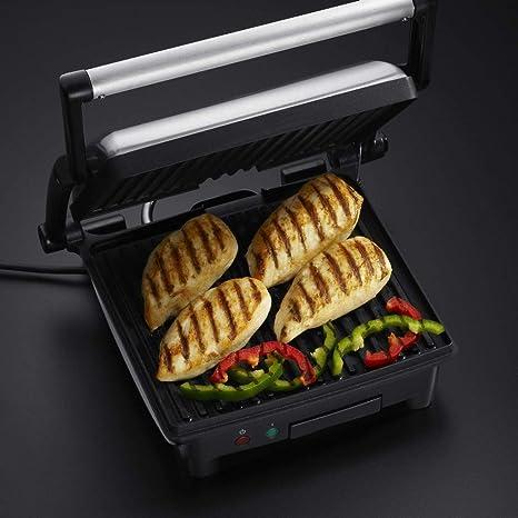 Russell Hobbs 17888-56 paninigrill Grill Griglia a Contatto Home Cook 3in1 1800 Watt