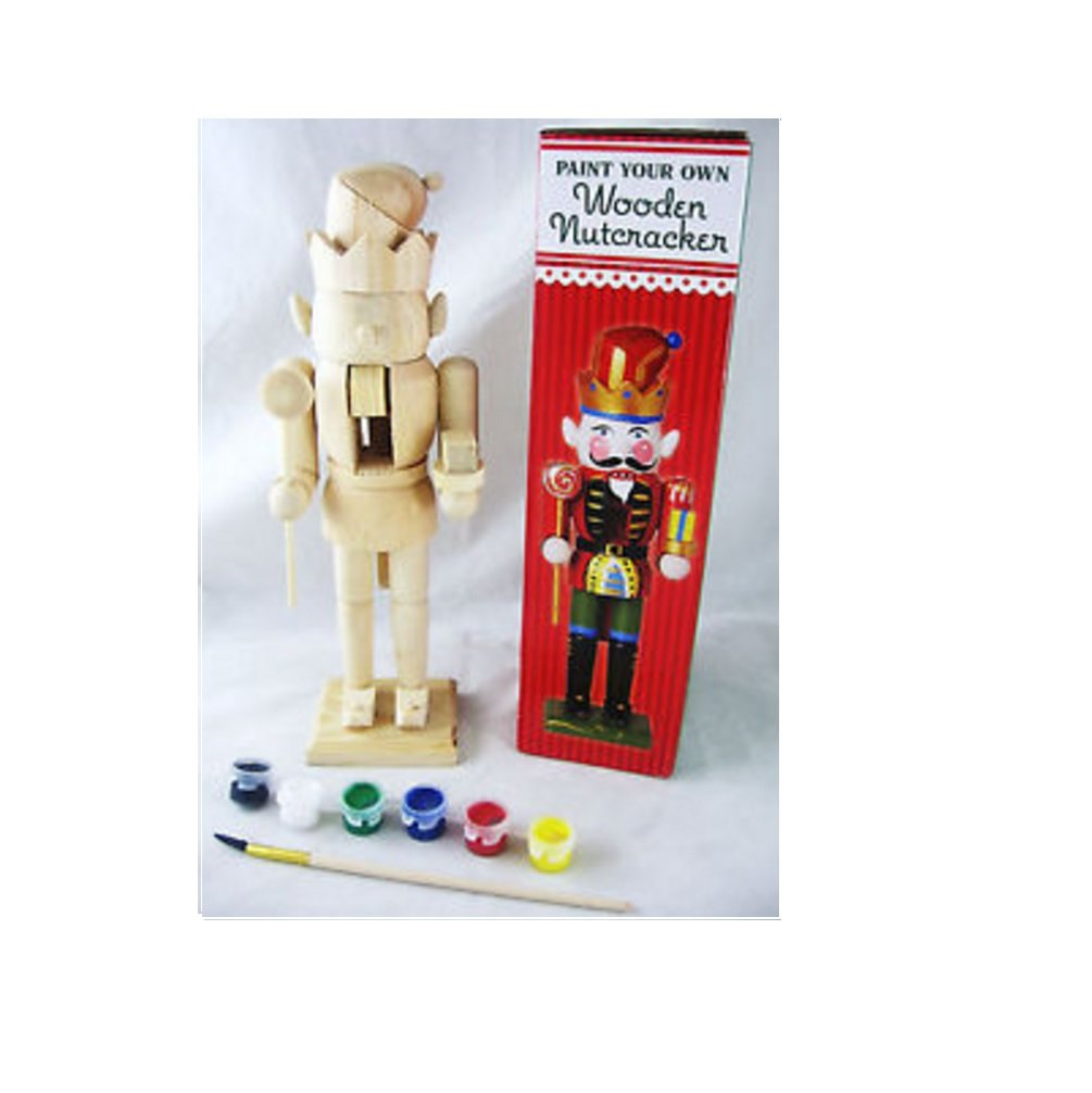 Paint Your Own Wooden Nutcracker