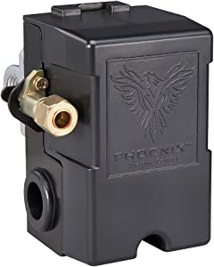 Phoenix 69MB8LY2C 115/150 PSI 4-Port Air Compressor Switch with Unloader & Auto/Off (Furnas Type)